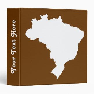 Nutmeg Festive Brazil at Emporio Moffa 3 Ring Binder