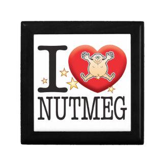 Nutmeg Love Man Keepsake Box