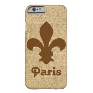 Nutmeg Parisian Moods Fleur de Lys Barely There iPhone 6 Case