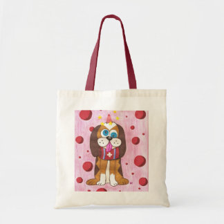 Nutmeg the dog small tote bag