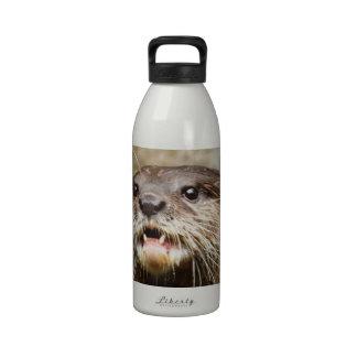Nutria Botella De Agua Reutilizable