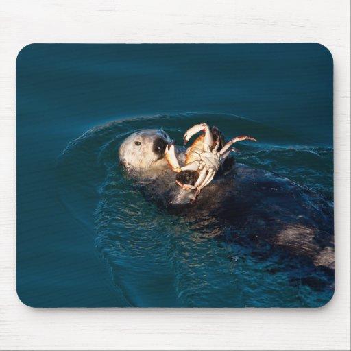 Nutria de mar alfombrilla de ratón