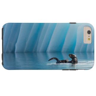 Nutria de mar juguetona funda para iPhone 6 plus tough