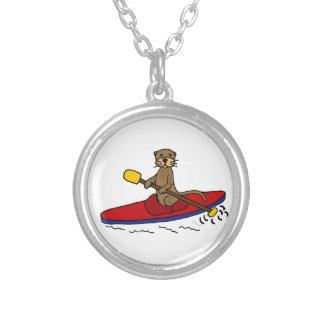 Nutria divertida Kayaking Collar Personalizado