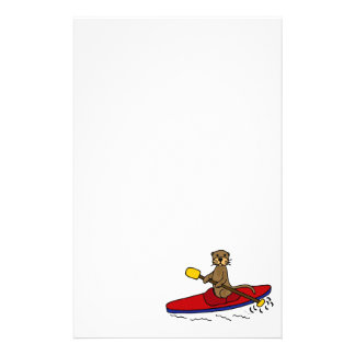 Nutria divertida Kayaking