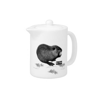 Nutria Teapot