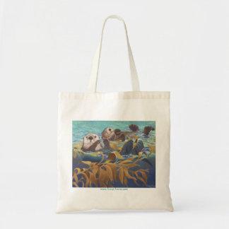 Nutrias de mar bolsa tela barata