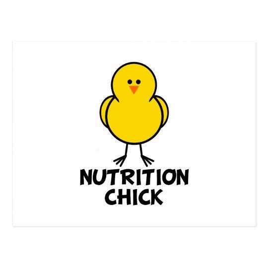 Nutrition Chick Postcard