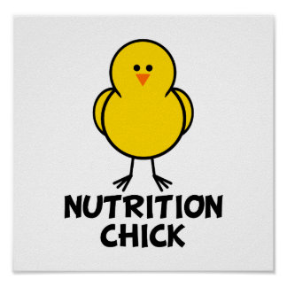 Nutrition Chick Print