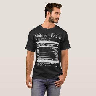 Nutrition Facts Drum Kit T-Shirt