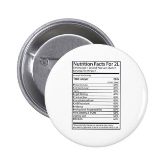 Nutrition Facts For A 2L 2 Inch Round Button