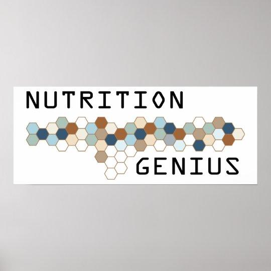 Nutrition Genius Poster