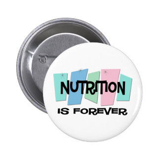 Nutrition Is Forever Button