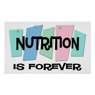 Nutrition Is Forever Print