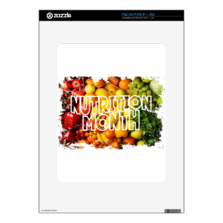 Nutrition Month - Appreciation Day Decal For The iPad
