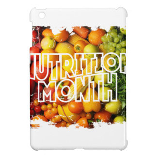 Nutrition Month - Appreciation Day iPad Mini Cover