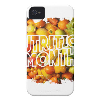 Nutrition Month - Appreciation Day iPhone 4 Cover