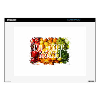 Nutrition Month - Appreciation Day Laptop Decal