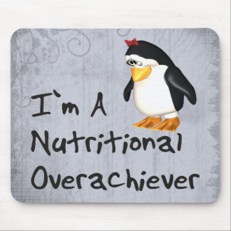 Nutritional Overachiever Mouse Pad