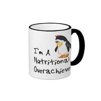 Nutritional Overachiever Ringer Coffee Mug