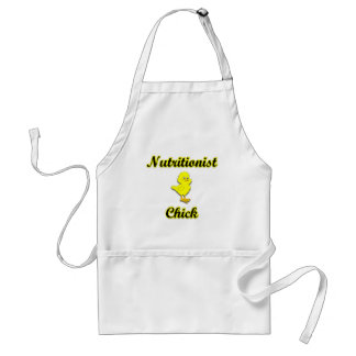 Nutritionist Chick Adult Apron