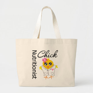 Nutritionist Chick Canvas Bags