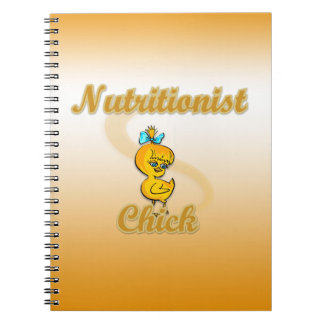 Nutritionist Chick Notebook