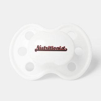 Nutritionist Classic Job Design BooginHead Pacifier