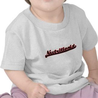 Nutritionist Classic Job Design T Shirt