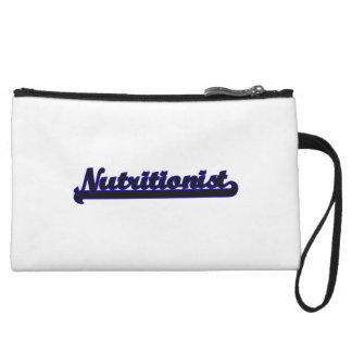 Nutritionist Classic Job Design Wristlet Clutches
