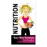 Nutritionist - custom order business card