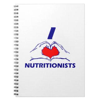 NUTRITIONIST DESIGN SPIRAL NOTEBOOK
