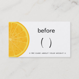 nutrition business cards zazzle