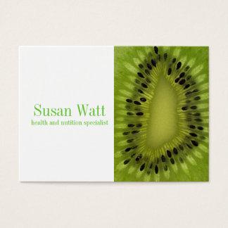 Nutritionist Kiwi Business Card