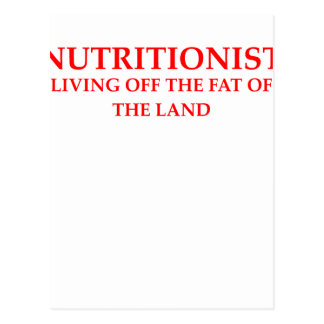 nutritionist postcards