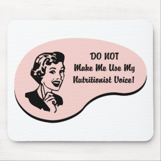 Nutritionist Voice Mouse Pad