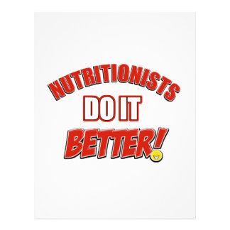 Nutritionists job designs letterhead design