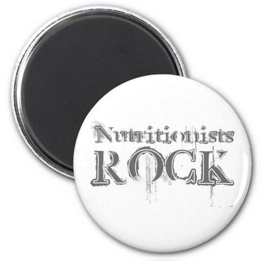 Nutritionists Rock Refrigerator Magnets