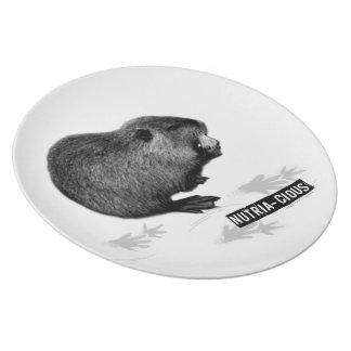 Nutritious Nutria Plate
