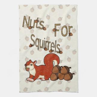 Nuts4Squirrels Hand Towels