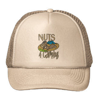 Nuts 4 Camping Trucker Hat