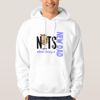 Nuts About Being A New Dad 1 (Blue) Sweatshirt