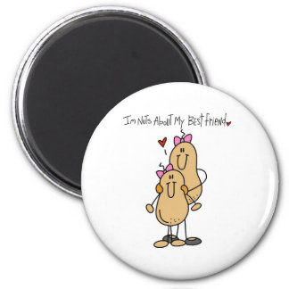 Nuts About Best Friend 2 Refrigerator Magnet
