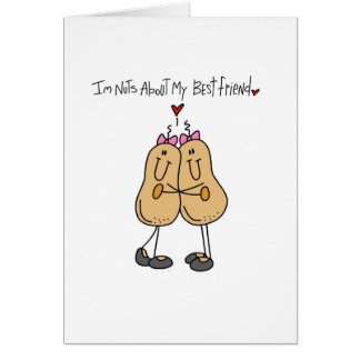 Nuts About Best Friend Card