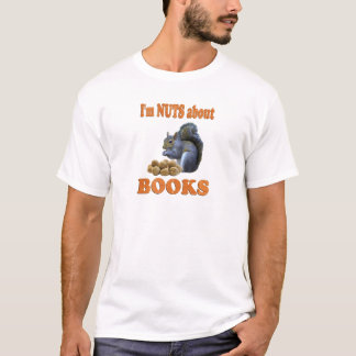 Nuts about Books T-Shirt
