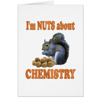 Nuts About Chemistry Card