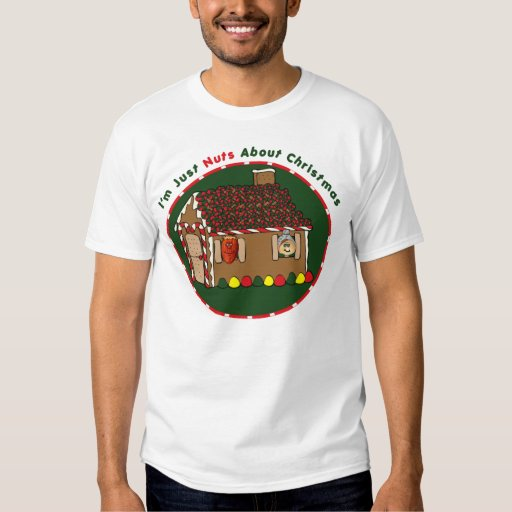 Nuts About Christmas T-shirt