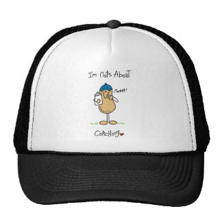 Nuts About Coaching T-shirts and Gifts Mesh Hats
