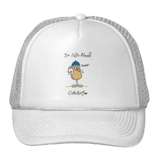 Nuts About Coaching T-shirts and Gifts Mesh Hat