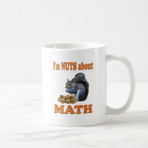 Nuts about Math Classic White Coffee Mug